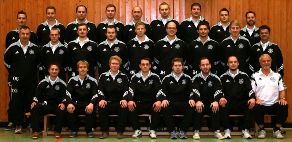 Mannschaft Glückburg 09 1.Männer